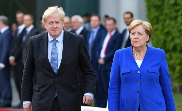 Angela Merkel Gives Boris Johnson 30 Days To Come Up With Alternative Plan To Avoid No-Deal Brexit