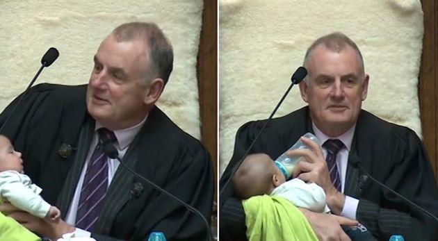 Trevor Mallard é presidente do parlamento da Nova