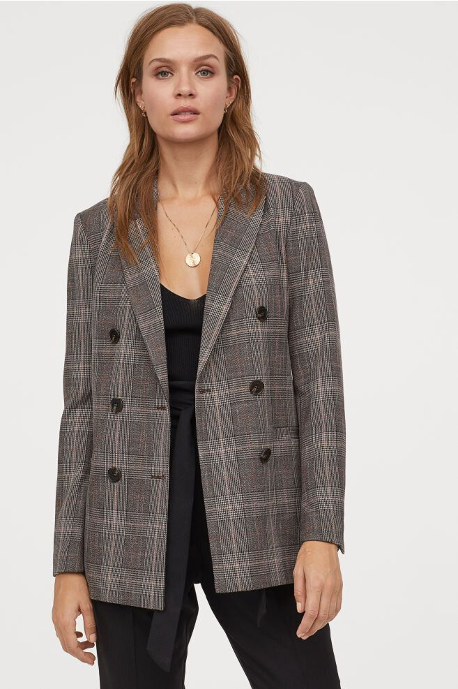 15 Stylish Plaid Blazers For Women You