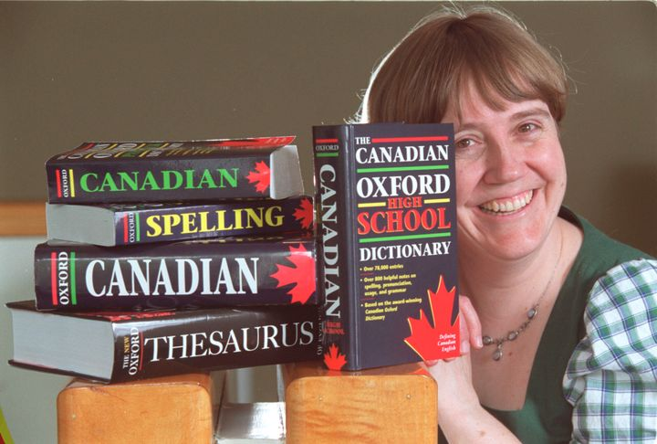 A new version of the Oxford Canadian English dictionary is probably never going to happen. The Canadian OED published two editions, before Oxford disbanded its Canadian team, led by lexicographer Katherine Barber (pictured above), in 2008.