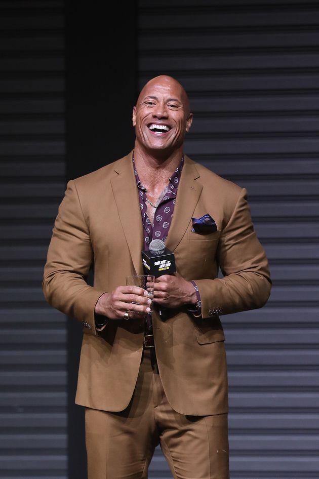 L'acteur Dwayne Johnson assiste à la conférence de presse pour «Fast & Furious:...