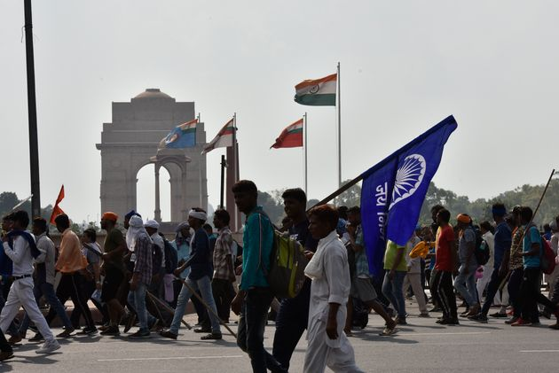 Clashes At Dalit Protest Against Ravidas Temple Demolition In Delhi, Police Detain Bhim Army
