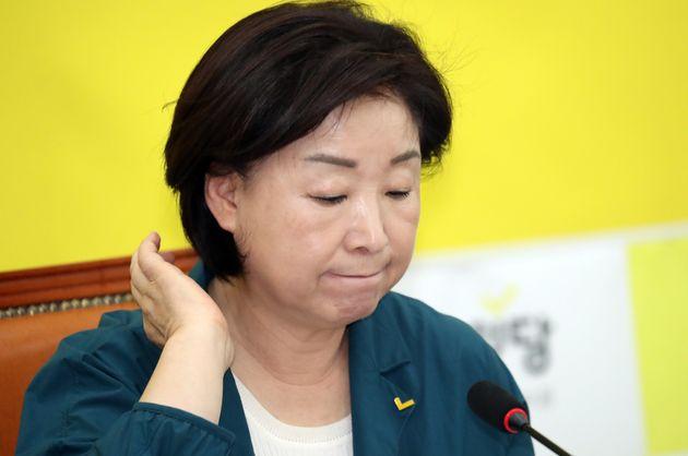 심상정 정의당 대표가 '조국 딸 의혹'에 대한 입장을