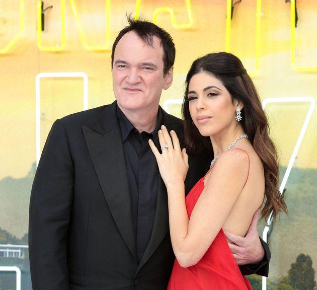 Ο Ταραντίνο και η σύζυγός του περιμένουν το πρώτο τους