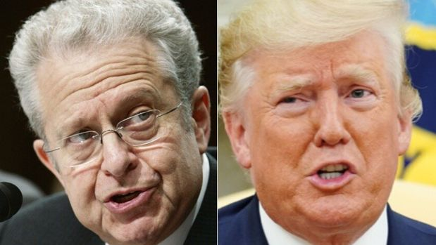 Laurence Tribe, Donald Trump