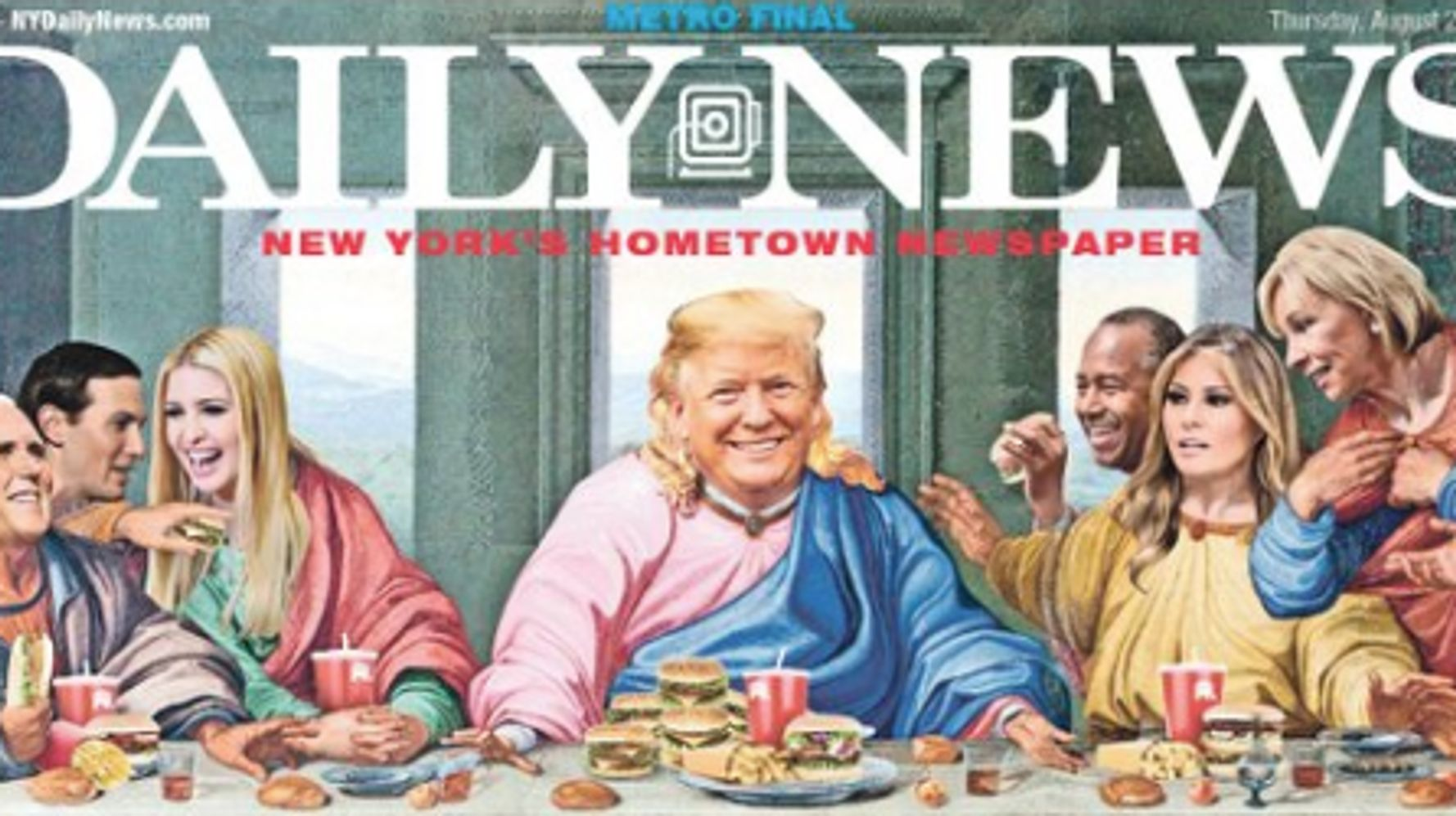 New York Daily News Batters Donald Trump With A Biblical
