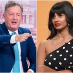 Piers Morgan Slams 'Deeply Unpleasant' Jameela Jamil In Harry And Meghan