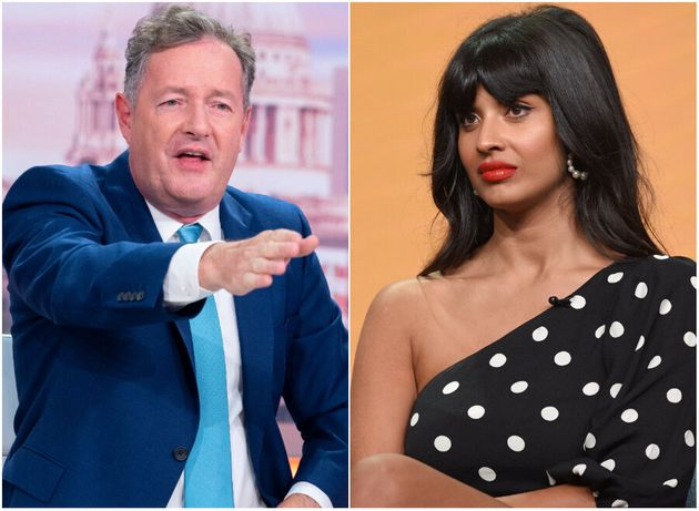 Piers Morgan and Jameela