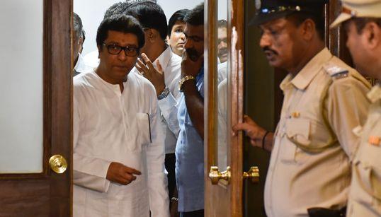 Mumbai On Edge As Raj Thackeray Appears Before