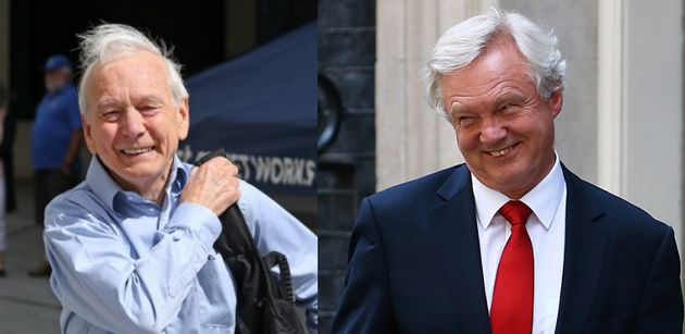 David Davis And John Humphrys Share Joke About Man Punching His Wife