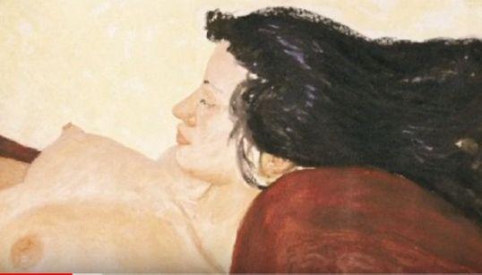 Ένα διαφορετικό μάθημα ζωγραφικής με τον Αλέκο Λεβίδη στο