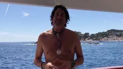 El comentado vídeo de Álvaro de Marichalar: se tira al agua