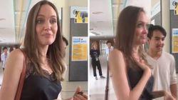 Cuore di mamma: Angelina Jolie si commuove per il figlio che lascia casa per
