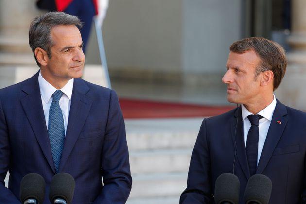 Μακρόν: Δεν θα δείξουμε αδυναμία απέναντι στις τουρκικές προκλήσεις στην κυπριακή