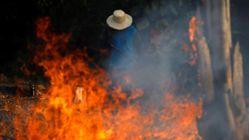 Los incendios en la Amazonia son reales, pero algunas fotos,