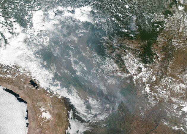 La NASA muestra la imagen más preocupante: así se ve la Amazonía desde el