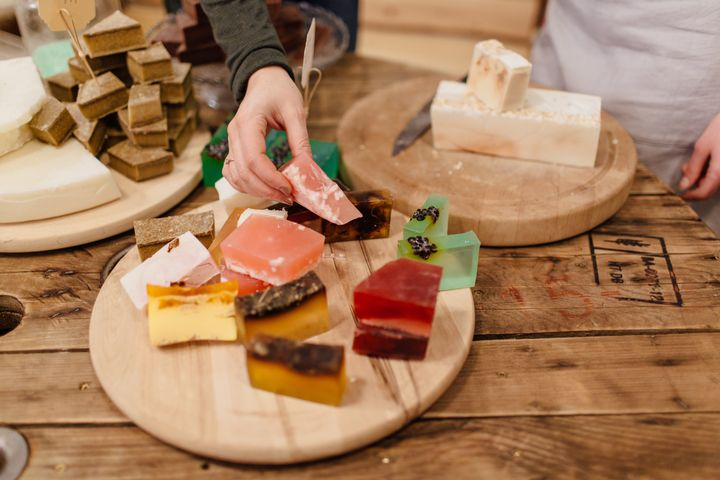 Some soaps are extremely drying — but there are others that are quite gentle.