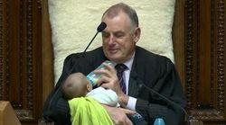 New Zealand House Speaker Babysits Colleague's Newborn During Parliament