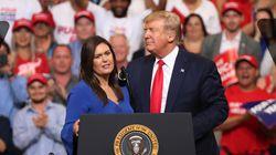 Sarah Sanders, ex-porte-parole de la Maison Blanche, bientôt sur Fox