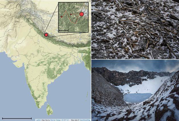 Το αρχαιολογικό μυστήριο της «Λίμνης των Σκελετών» στα Ιμαλάια: Πιθανώς Έλληνες μεταξύ των