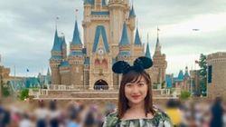 池江璃花子さん、東京ディズニーランド訪問をインスタグラムで明かす。「ずっと行きたかったので」
