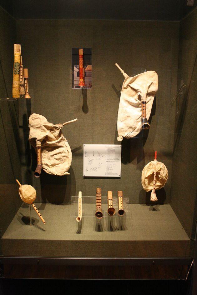Τσαμπούνες στο Μουσείο...