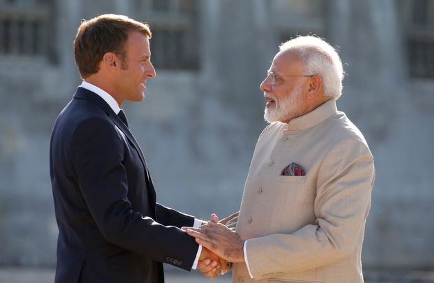 India And Pakistan Will Have Find A Solution To Kashmir, Macron Tells
