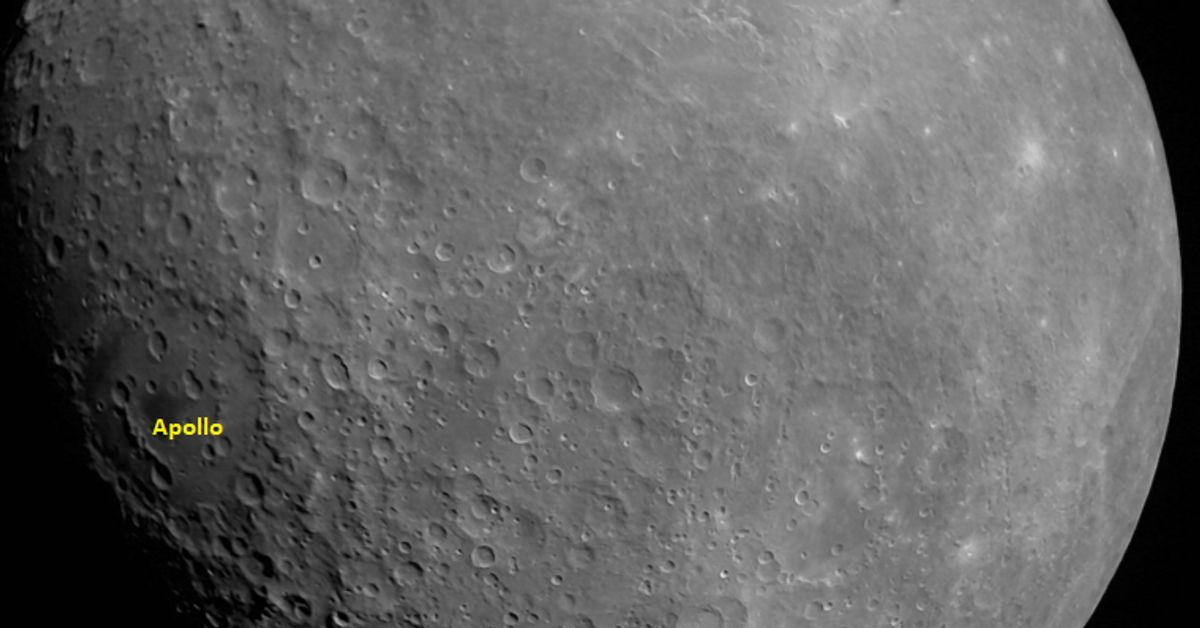 What Chandrayaan-2's First Photo Of The Moon Tells Us