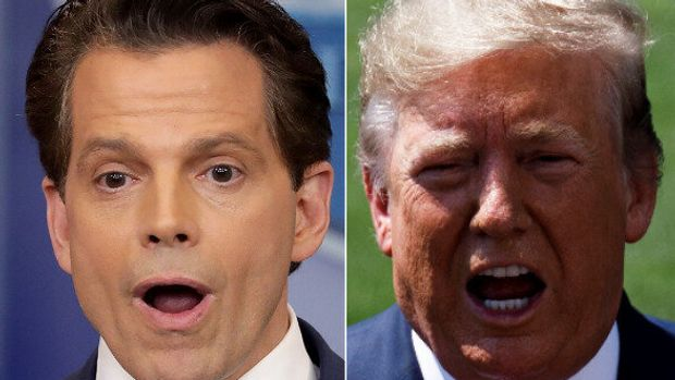 Anthony Scaramucci, Donald Trump