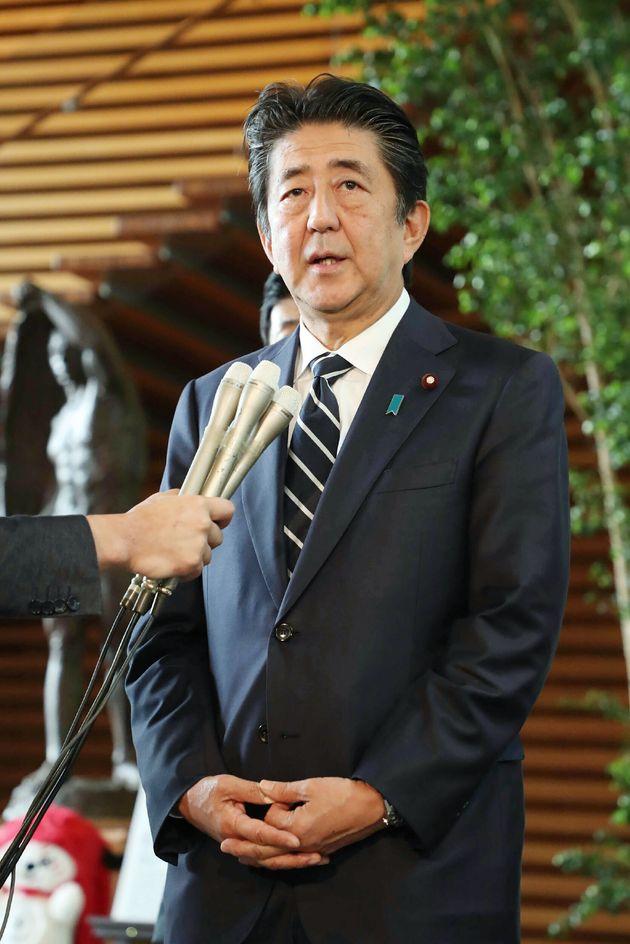 아베 일본 총리,