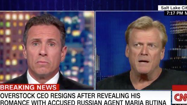 CNN Overstock CEO