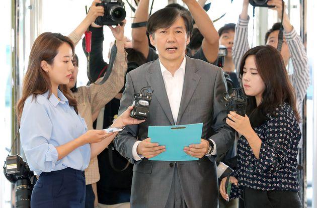 """조국 후보자 """"사학재단, 사모펀드 사회로 환원"""""""