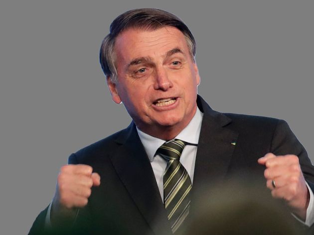 Jair Bolsonaro, président d'extrême-droite du Brésil depuis janvier