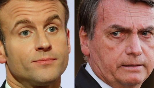 Bolsonaro, 'on fire' contra Macron: métete en tus cosas y pasa de mis incendios en la