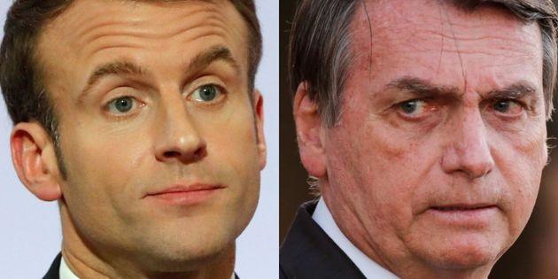 Emmanuel Macron y Jair