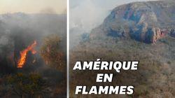 L'Amazonie brûle au Brésil et en Bolivie