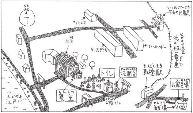 千葉県流山市流山の間取り図