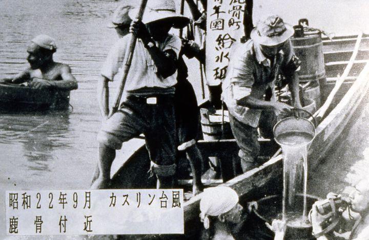 江戸川区はこれまでも水害に襲われてきた。利根川から水が溢れたカスリーン台風(昭和22年)
