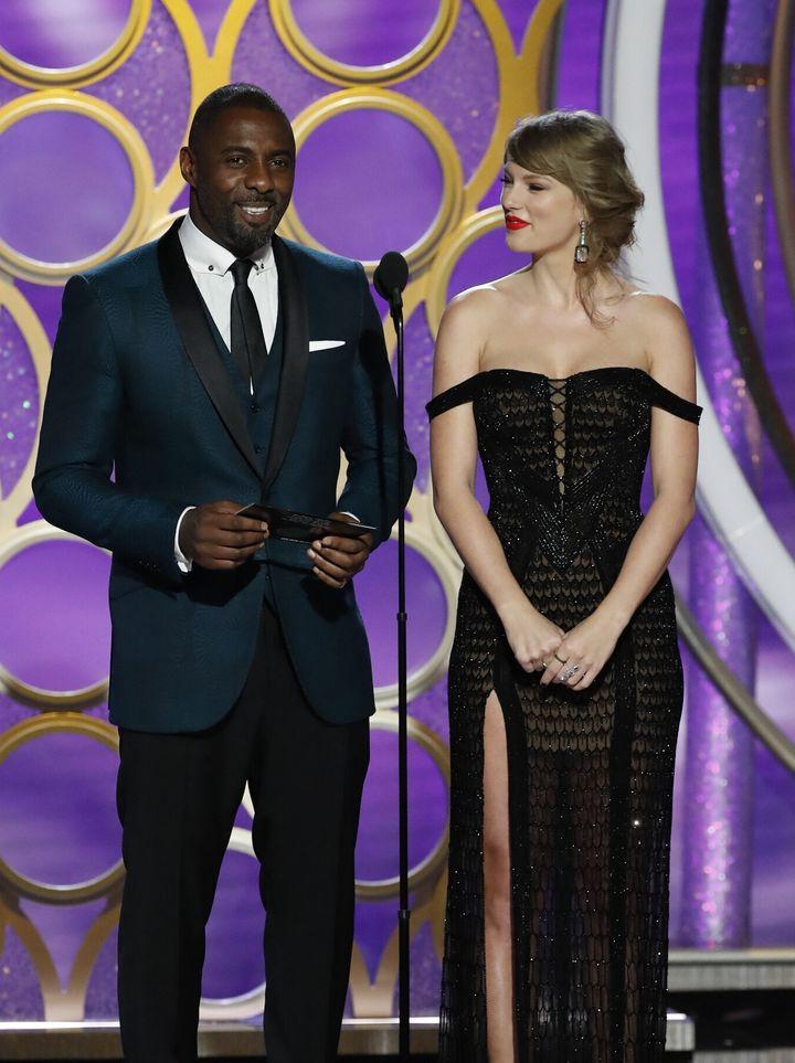 Idris Elba features on Taylor Swift's new album