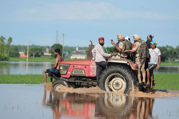 Punjab Government, Bhakra Dam Officials Lock Horns Over Cause Of Floods