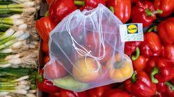 Des sacs réutilisables pour fruits et légumes arrivent chez