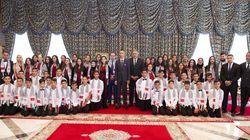 Le prince Moulay El Hassan reçoit les enfants