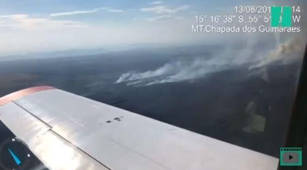 Les incendies en Amazonie au Brésil vus