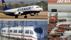 Huelgas en la vuelta de vacaciones: Renfe, Iberia y
