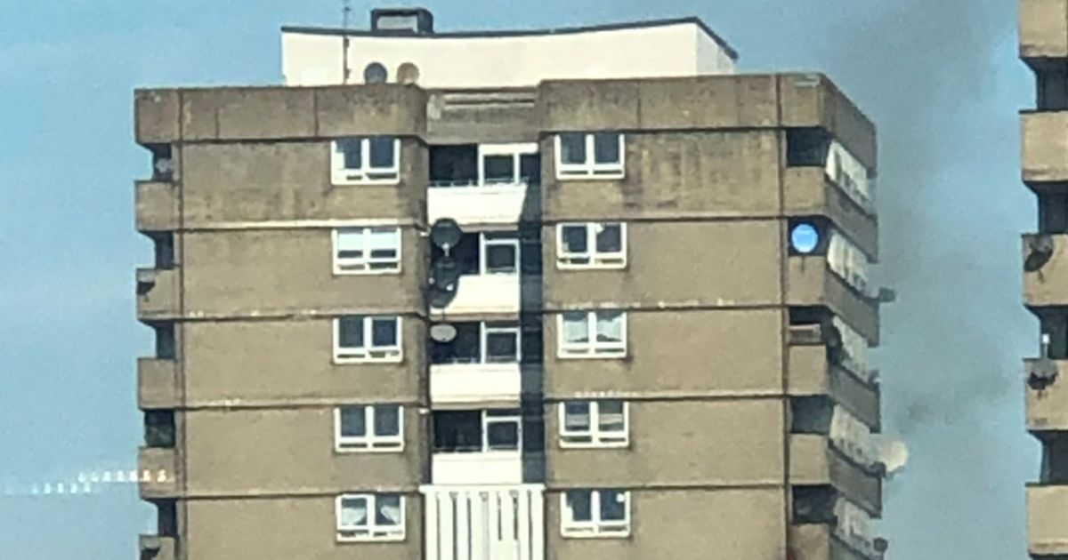 70 Firefighters Tackle Blaze At Flats Near Grenfell Tower