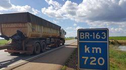 L'autostrada BR-163, il