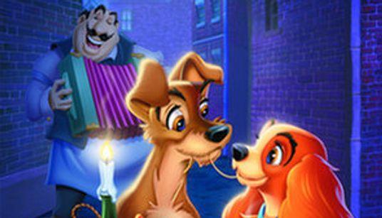 El póster con animales reales del 'remake' de 'La dama y el vagabundo' es igual que el