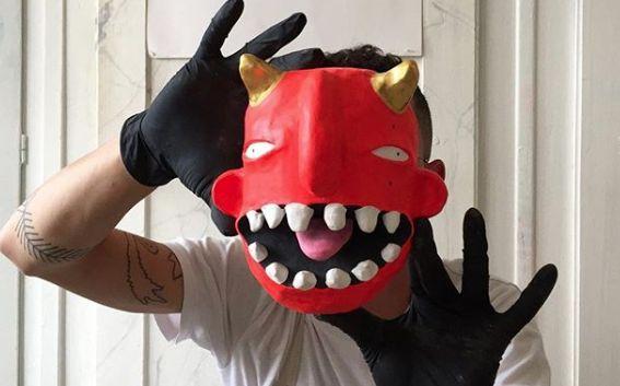 Les masques de Xavier Noël vont vous replonger en enfance