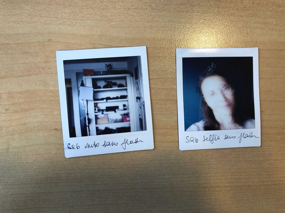 Des photos ratées avec l'Instax