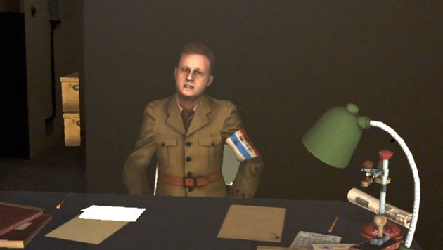 L'avatar virtuel du colonel